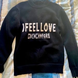 I feel love Givenchy sweater